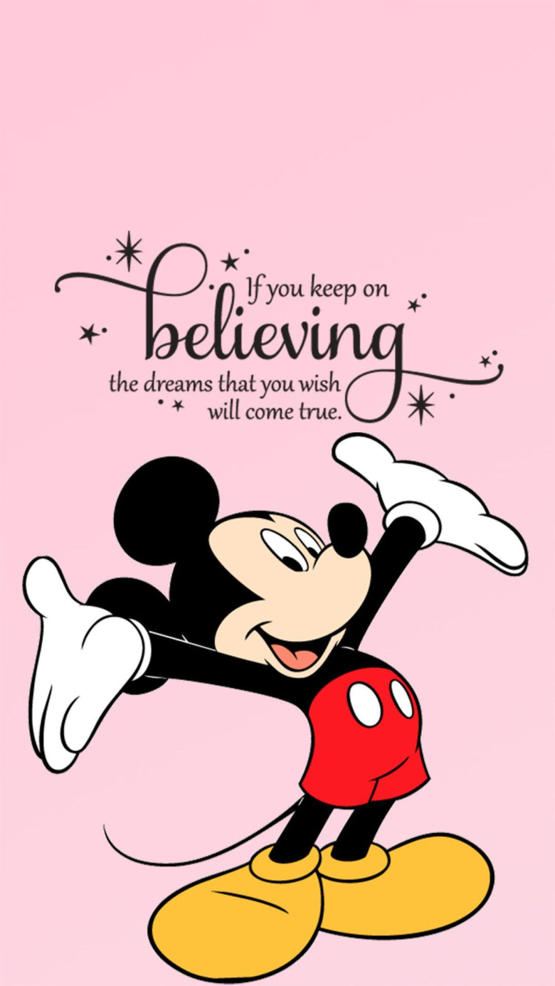 Cute Mickey Mouse Iphone Wallpaper 71 Images Mickey Mouse Quotes Walt Disney Quotes Quotes Disney