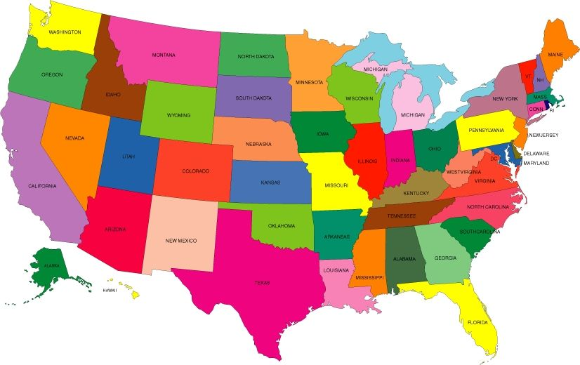 Coloring Map Of Usa J3KP Printable Color Map Of The Us Us Map States ...
