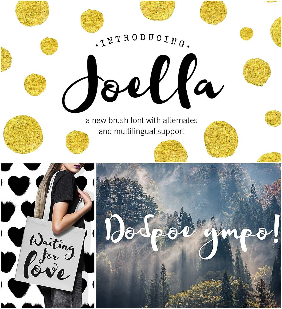 Joella Cyrillic Handwritten Font Free Fonts Download Fonts
