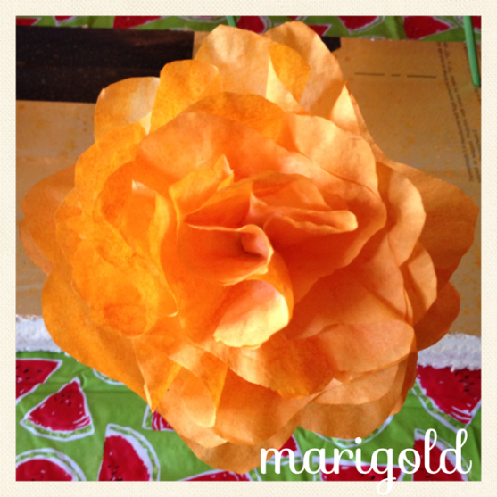 Made by Hometalk member Terri U out of coffee filters.