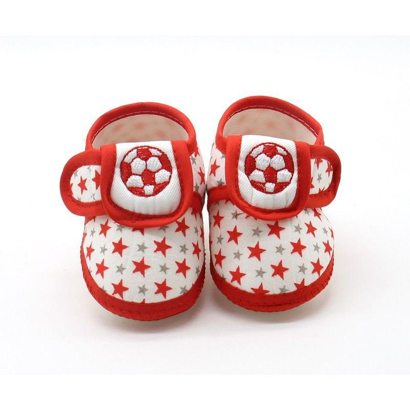 Newborn Toddler Cute Baby Girls Boys Print Prewalkers Soft Sole Anti-Slip Shoes