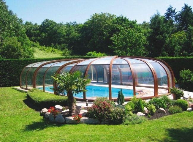 Techos para piscinas d cosas para una casa garden for Fotos casas de campo con piscina