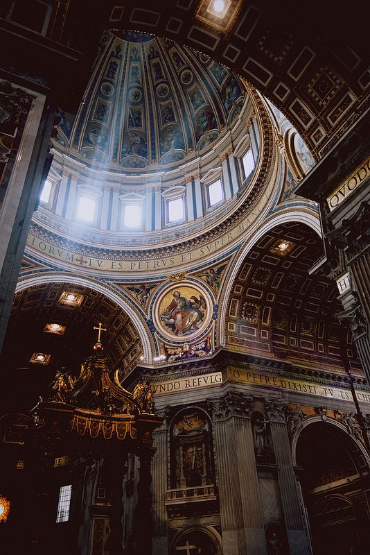 St. Peter's Basilica, Rome, Italy | by voldy92