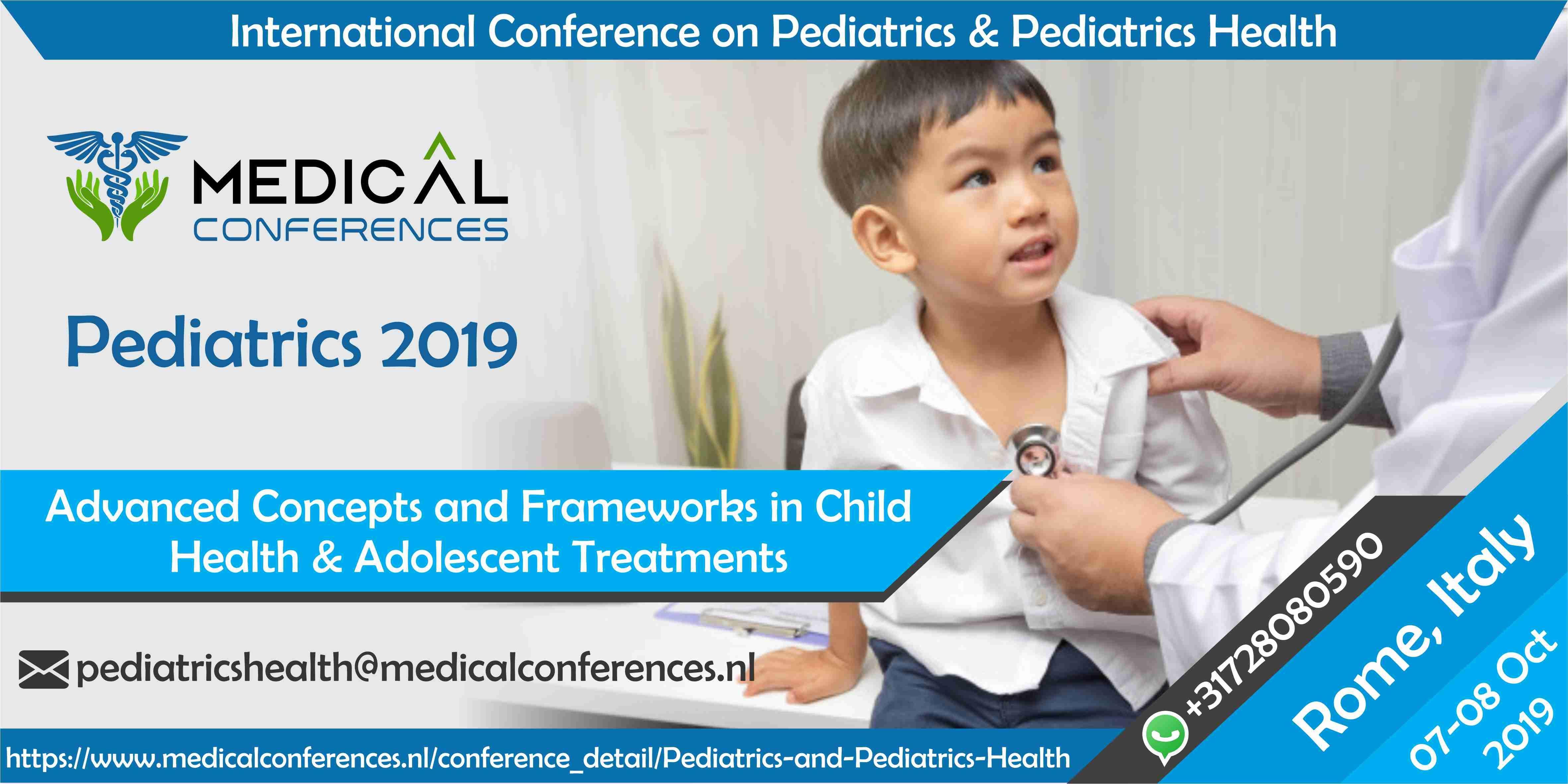 International Conference on Pediatrics & Pediatrics Health October