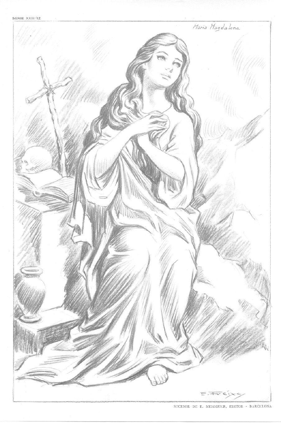 L minas emilio freixas serie 23 figuras religiosas ii emilio freixas pinterest figuras - Laminas de dibujo artistico ...