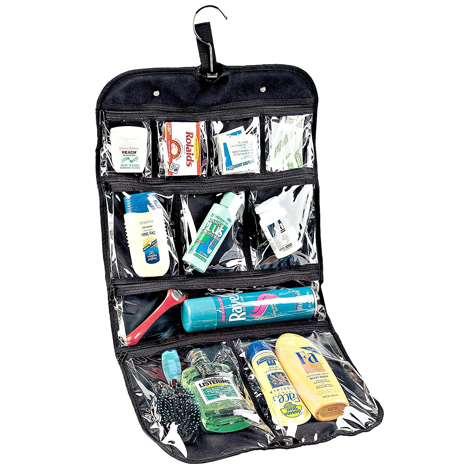 51e4b74ddccc What's the Best Hanging Toiletry Bag for Women? | Travel tips | Mens ...