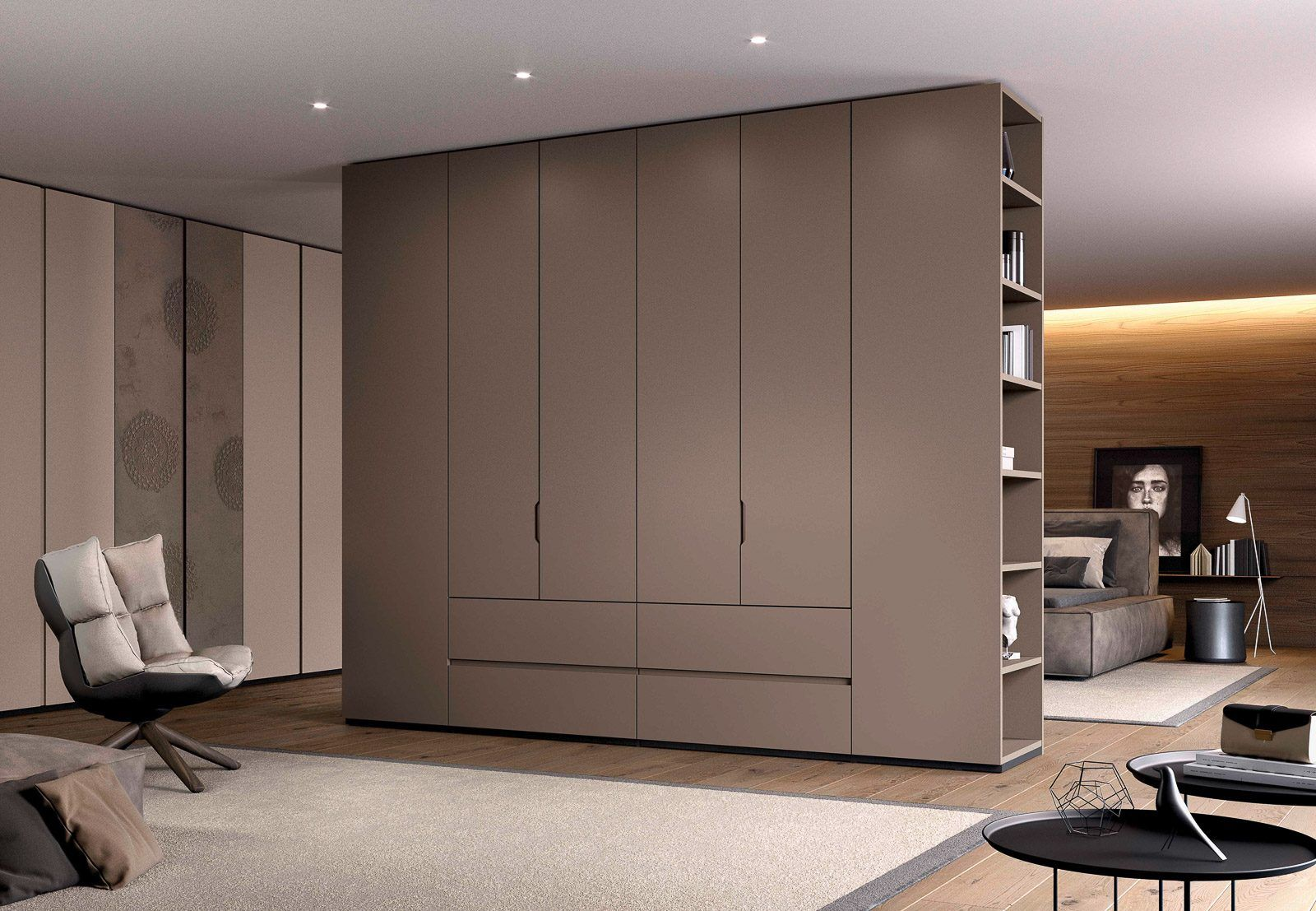 Italian Free Standing & Integrated Contemporary Wardrobes