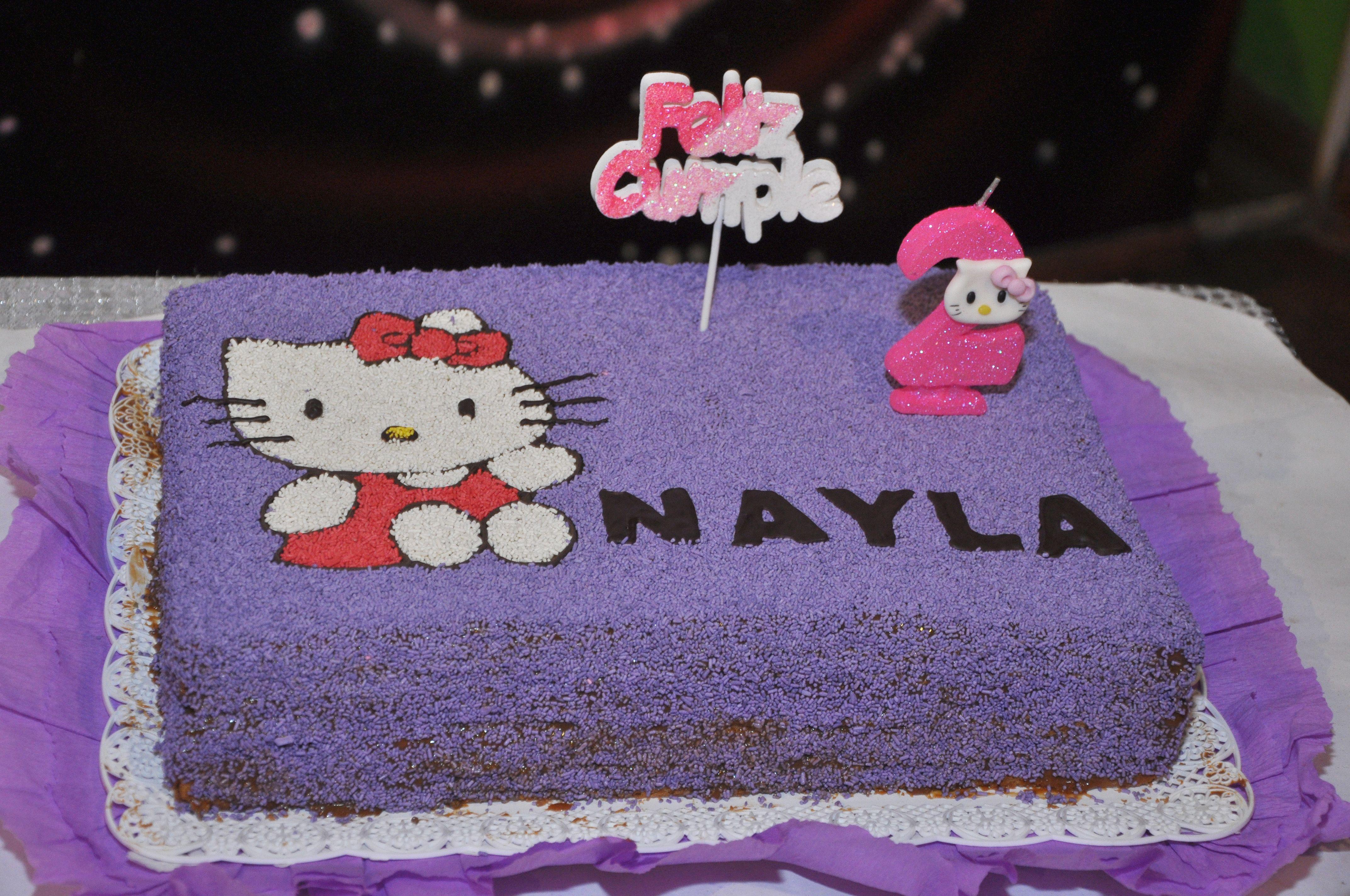 Torta Nº2 de Nay La vela la hizo la madrina Gaby