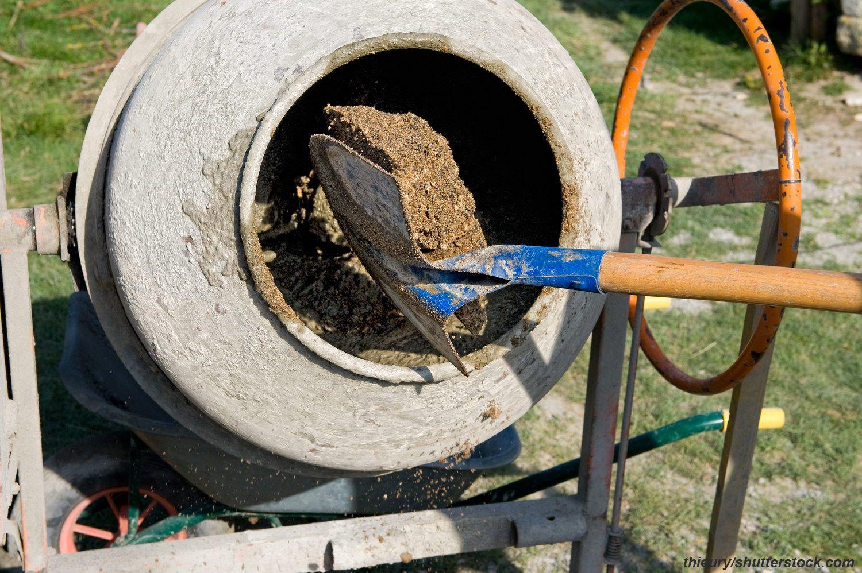 Осп бетон сухая смесь для укладки тротуарной плитки на бетонное основание