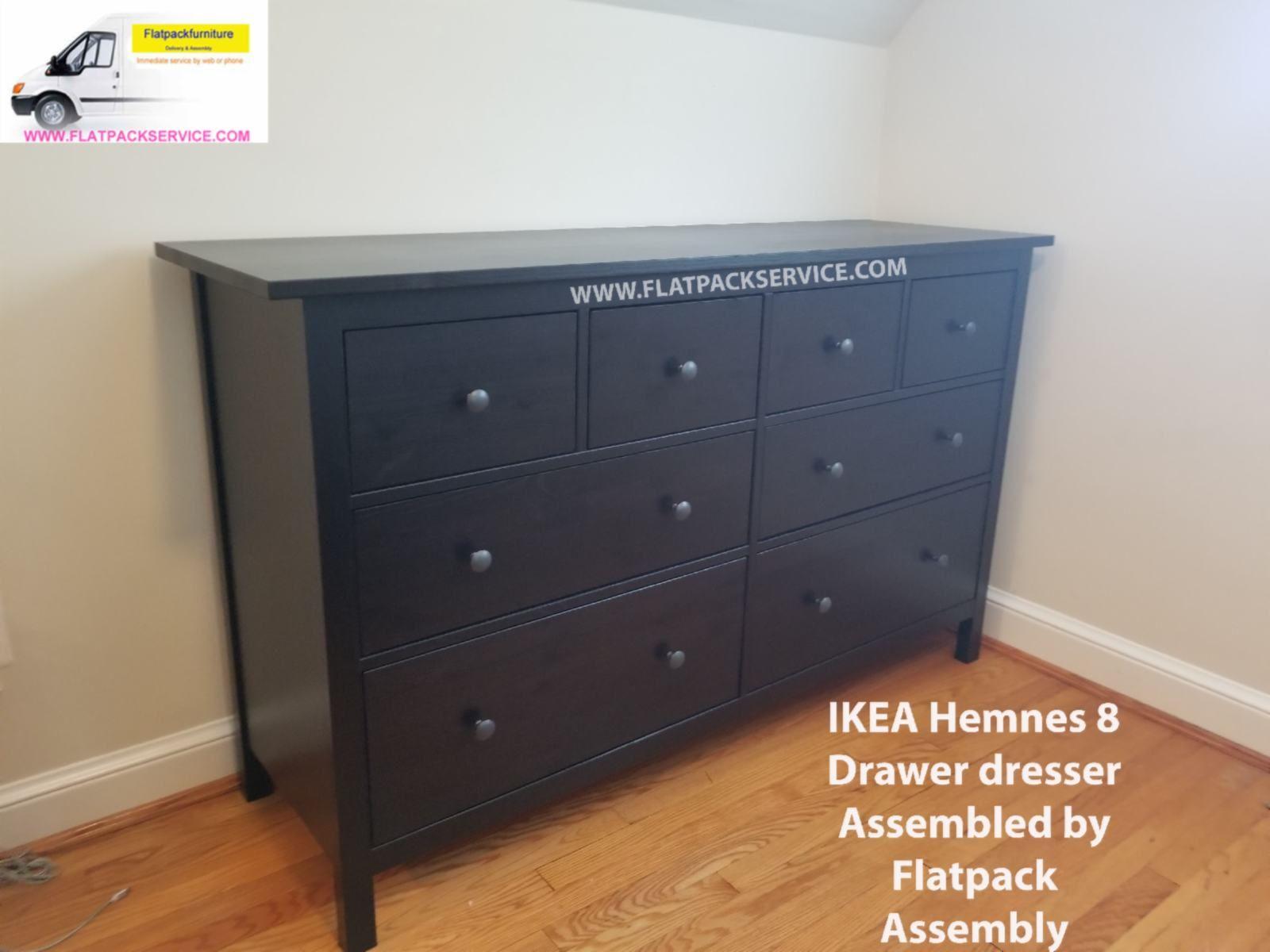 ... Of Drawers U2013 IKEA MALM 6 Drawer Dresser HEMNES 8 Drawer Dresser   White  Stain IKEA Dressers Assembled Assembly Service U2013 IKEA Furniture Assembly U0026  Help ...