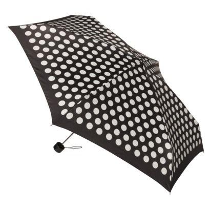 Mini Black/White Dot Umbrella