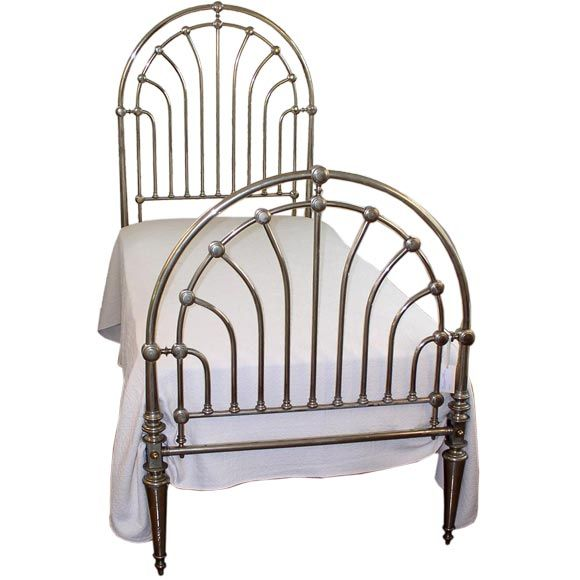 Art Deco Period Twin Bed | From a unique collection of antique and modern day beds at https://www.1stdibs.com/furniture/seating/day-beds/