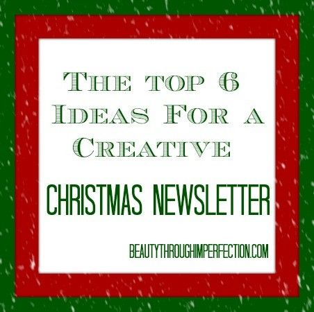 Ideas For A Creative Christmas Letter  Christmas Letters