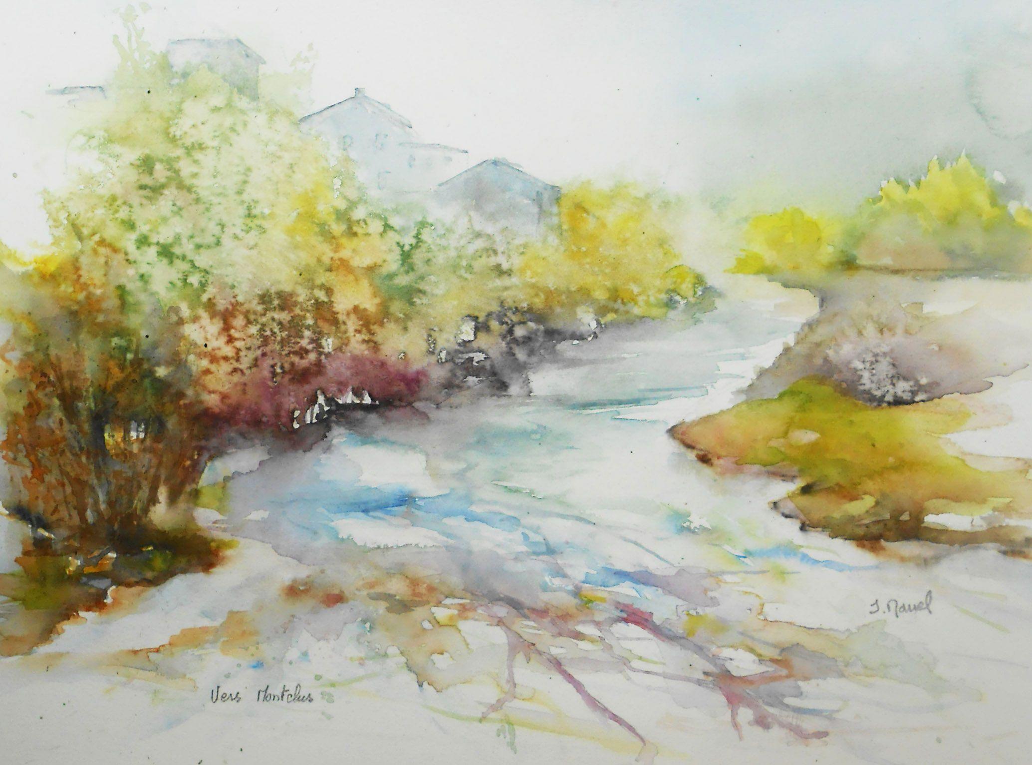 Vers Montclus Gard