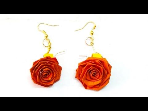 Paper quilling rose earrings youtube quilling pinterest paper quilling rose earrings youtube mightylinksfo