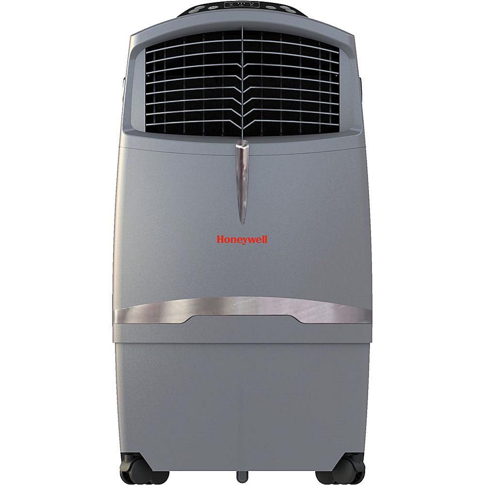 525 Cfm Indoor Outdoor Evaporative Air Cooler Swamp Cooler With Remote Contro 7517802 Evaporative Cooler Cooler Reviews Air Conditioning Units