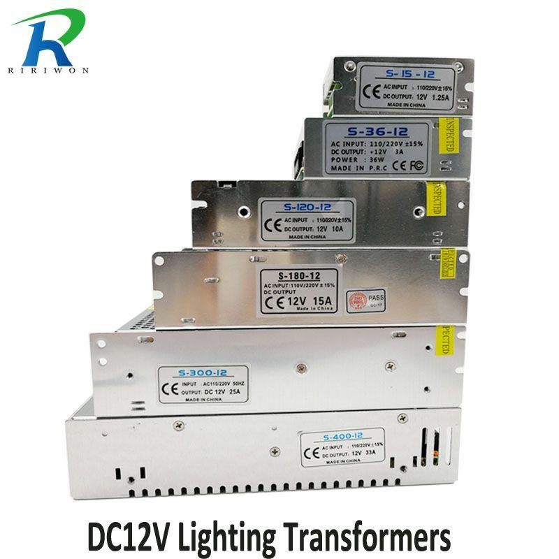 Riri Wird Dc 12 V Stromversorgung Beleuchtung Transformator