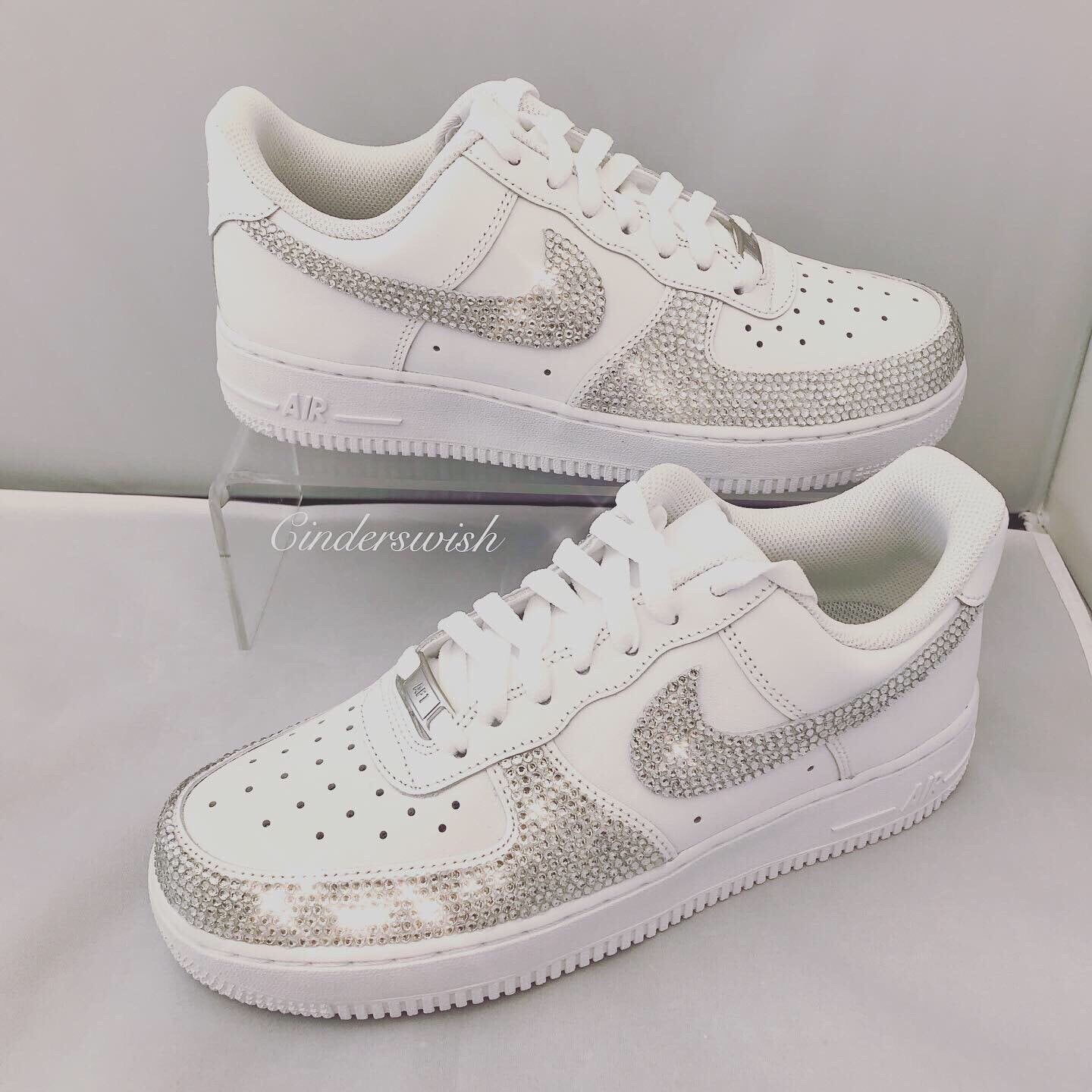 nike air force con brillantini
