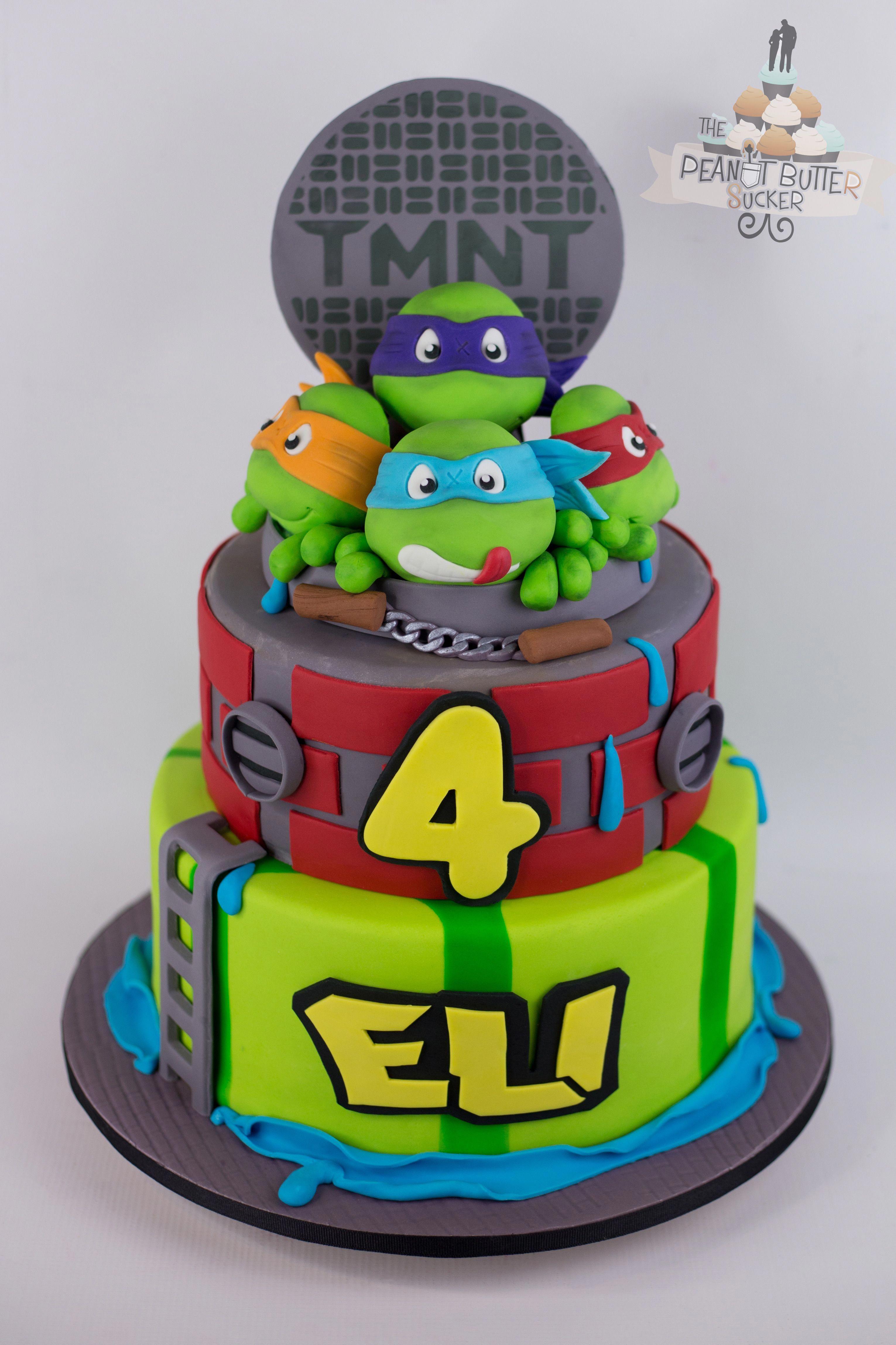 Ninja Turtle Cake Turtlecake Ninja Turtle Cake Ninja Turtle Birthday Cake Turtle Cake