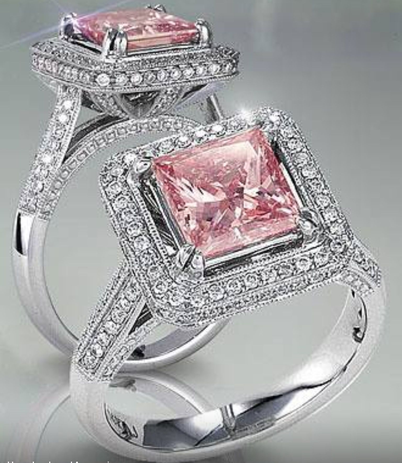 Pin By Robyn Mcswain On Incredible Jewellery Pink Diamonds Engagement Pink Diamond Engagement Ring Pink Diamond Ring