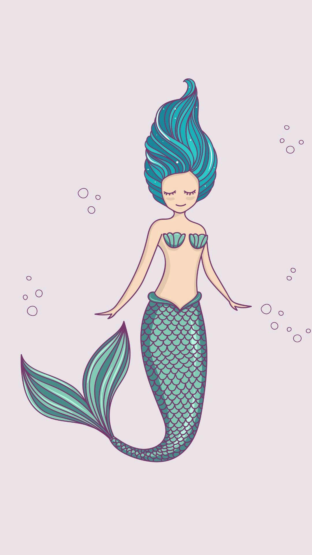 Mermaid Wallpaper Wallpapers V Roce 2019 Pinterest Mermaid