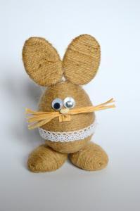 Wielkanocny Zajac Wielkanoc Eko Sznurek 5961429820 Oficjalne Archiwum Allegro Easter Egg Art Easter Wood Crafts Easter Decorations Christian