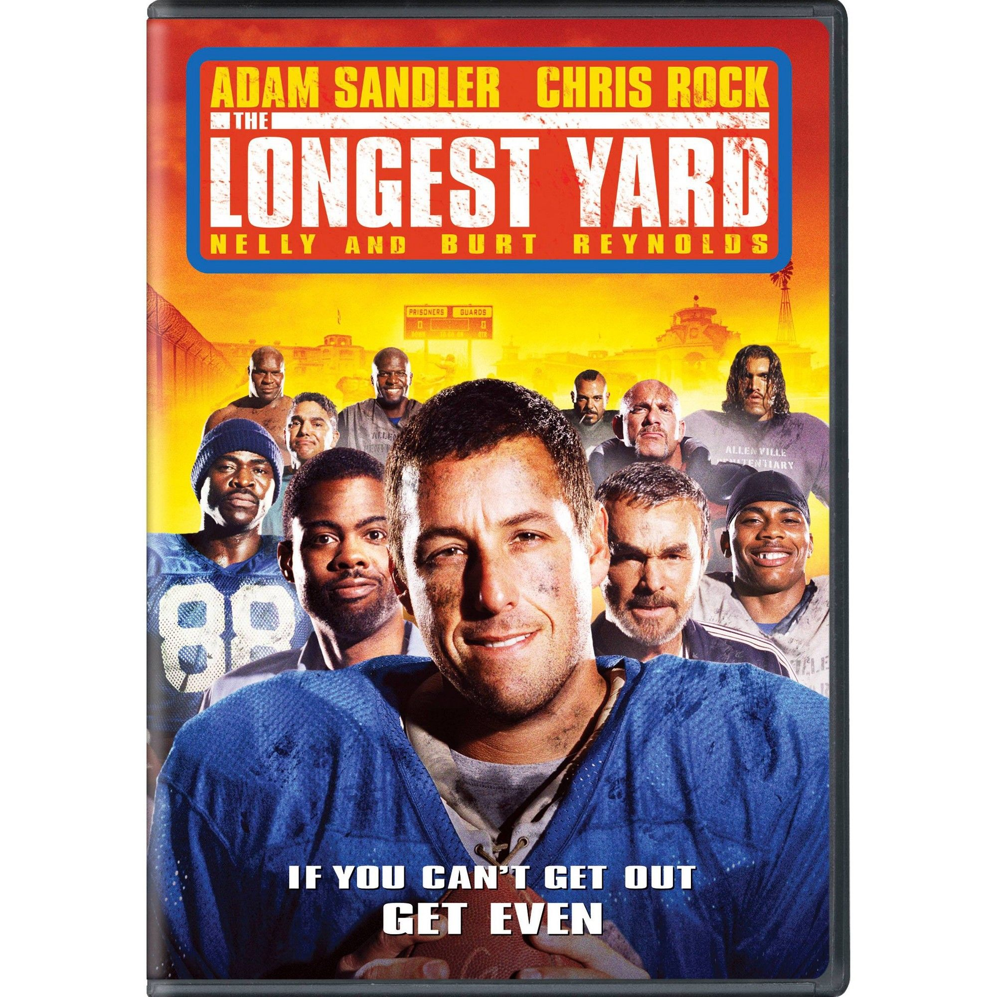 Longest Yard Dvd Comedy Movies Funny Movies Adam Sandler Movies