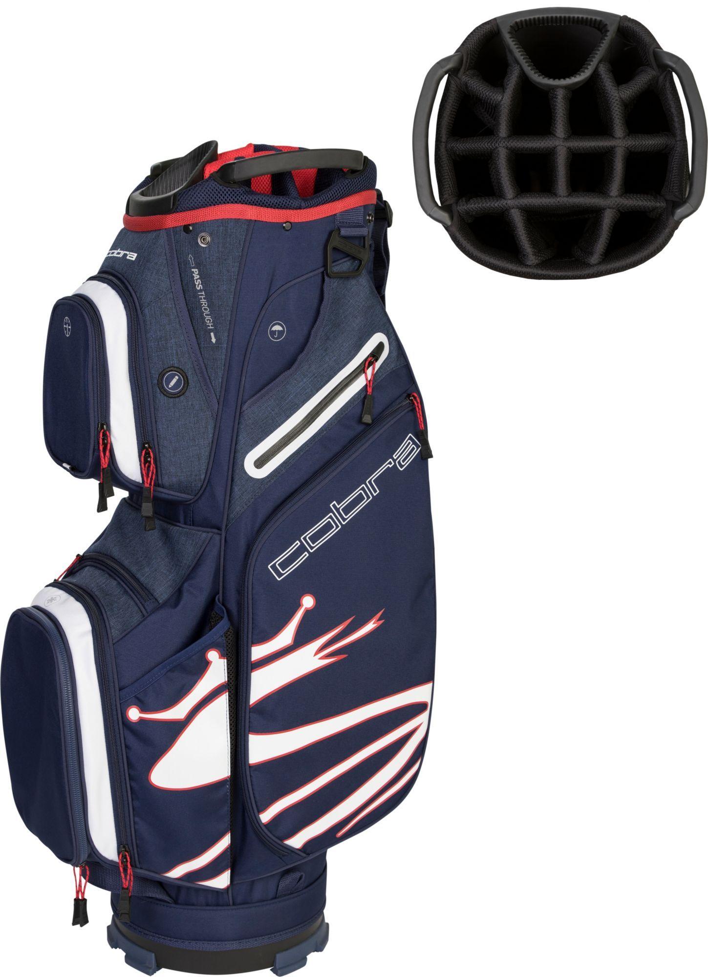 Cobra Ultralight Golf Cart Bag, Blue Golf, Bags