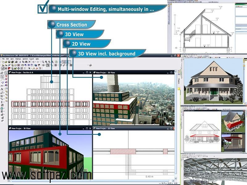 Get the CAD Architecture Pro software for windows for free - free resume downloader
