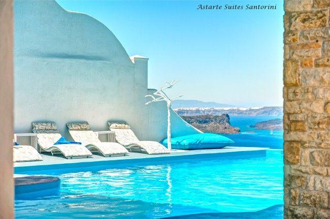 Honeymoon Escape: Astarte Suites Hotel in Santorini Greece