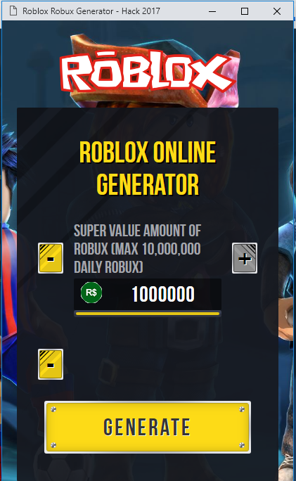 Roblox Hack Get Unlimited Free Robux Generator No Human