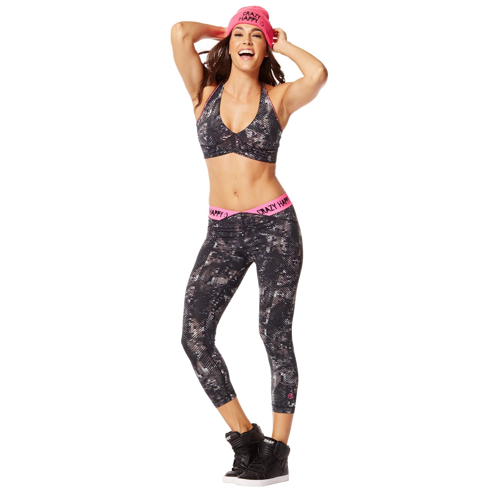 1f906baf1a984 Zumba Womens High Impact Workout Support Print Sports Bra    To view  further for this item