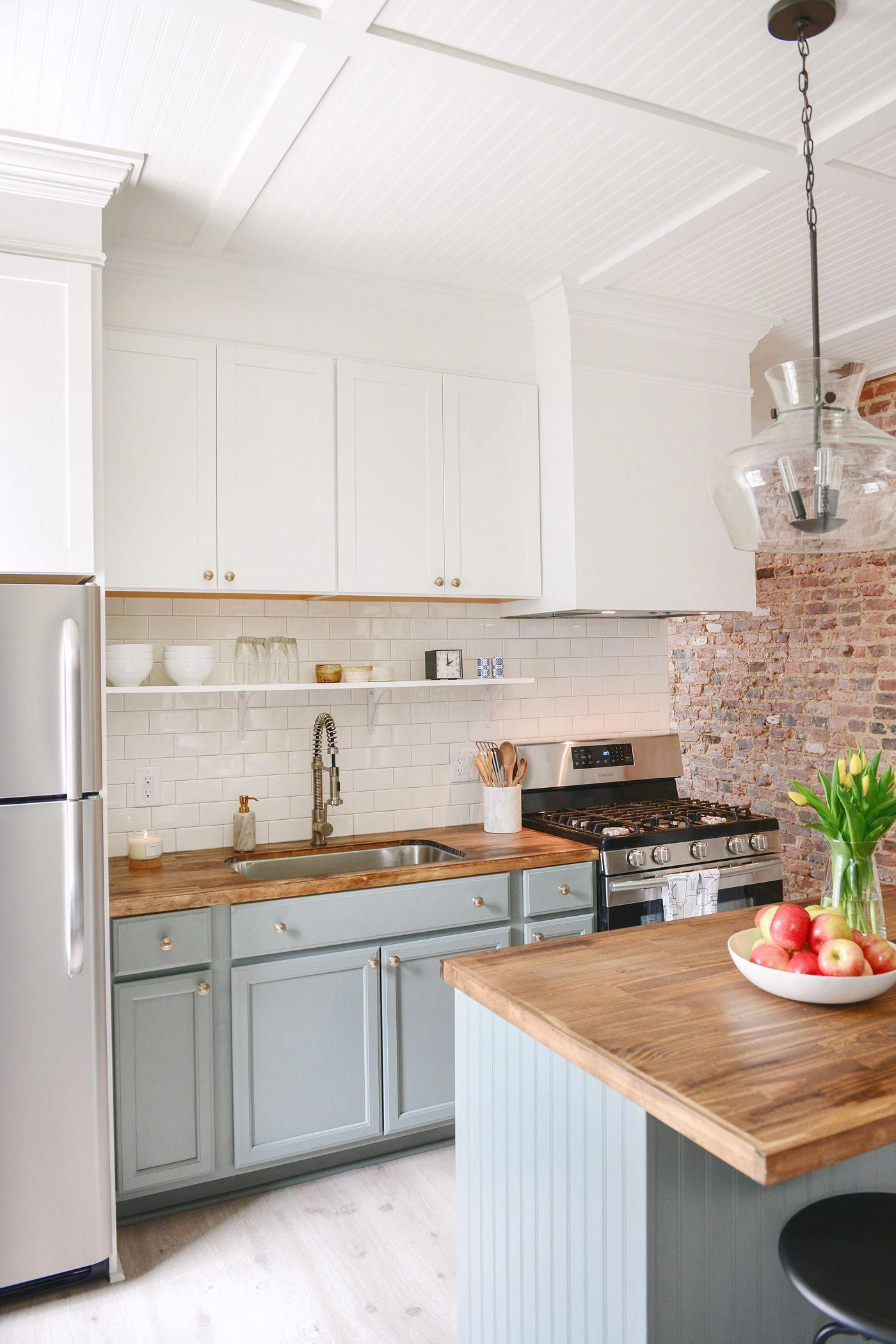 Kitchen Cabinets Makeover Before And After Back Splashes