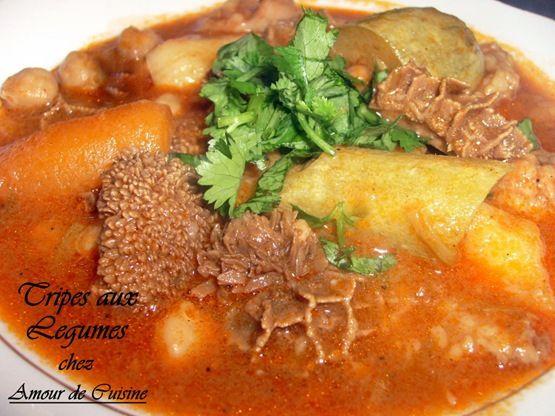 Tripes aux legumes \u2013 Dowwara bel khodra Ramadan, Ramadan 2013 and - cuisine verte et blanche