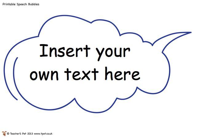 Editable speech bubbles writing resources pinterest classroom bubble speech template for word invitation templates stopboris Gallery