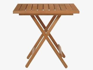 Zeno Natural Wood Oak Folding Garden Table For 50 Pounds Covent Picture 1