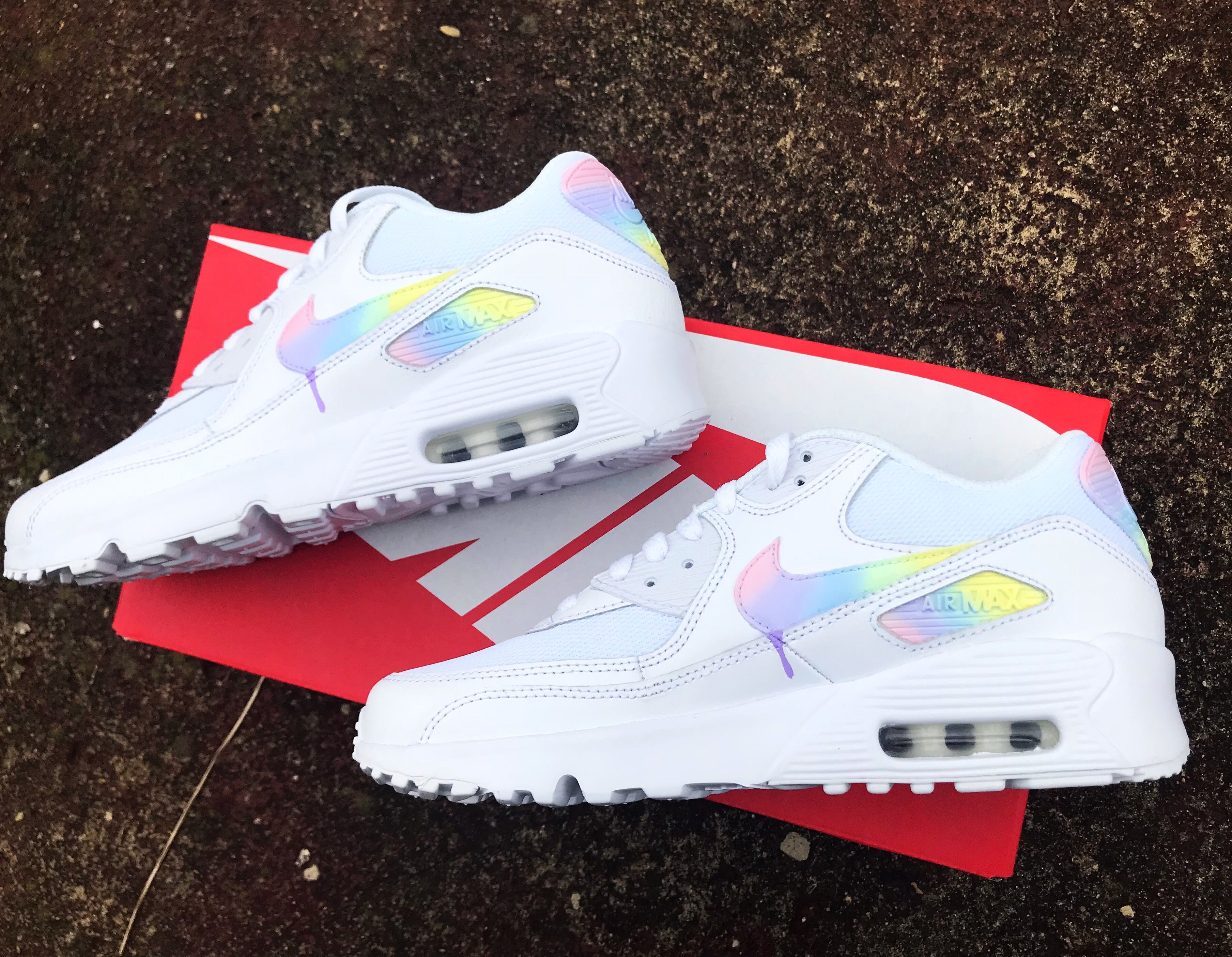 competitive price 81106 a7aa6 Nike unicorn 🦄   Custom shoe collection   Nike air max, Nike, Sneakers