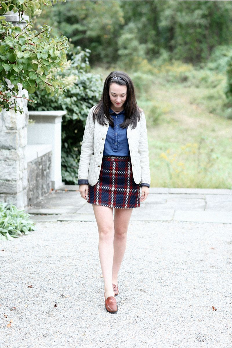 7ad94b395c Plaid Skirt Season | New England Prep | Fashion, Preppy skirt, Fall ...