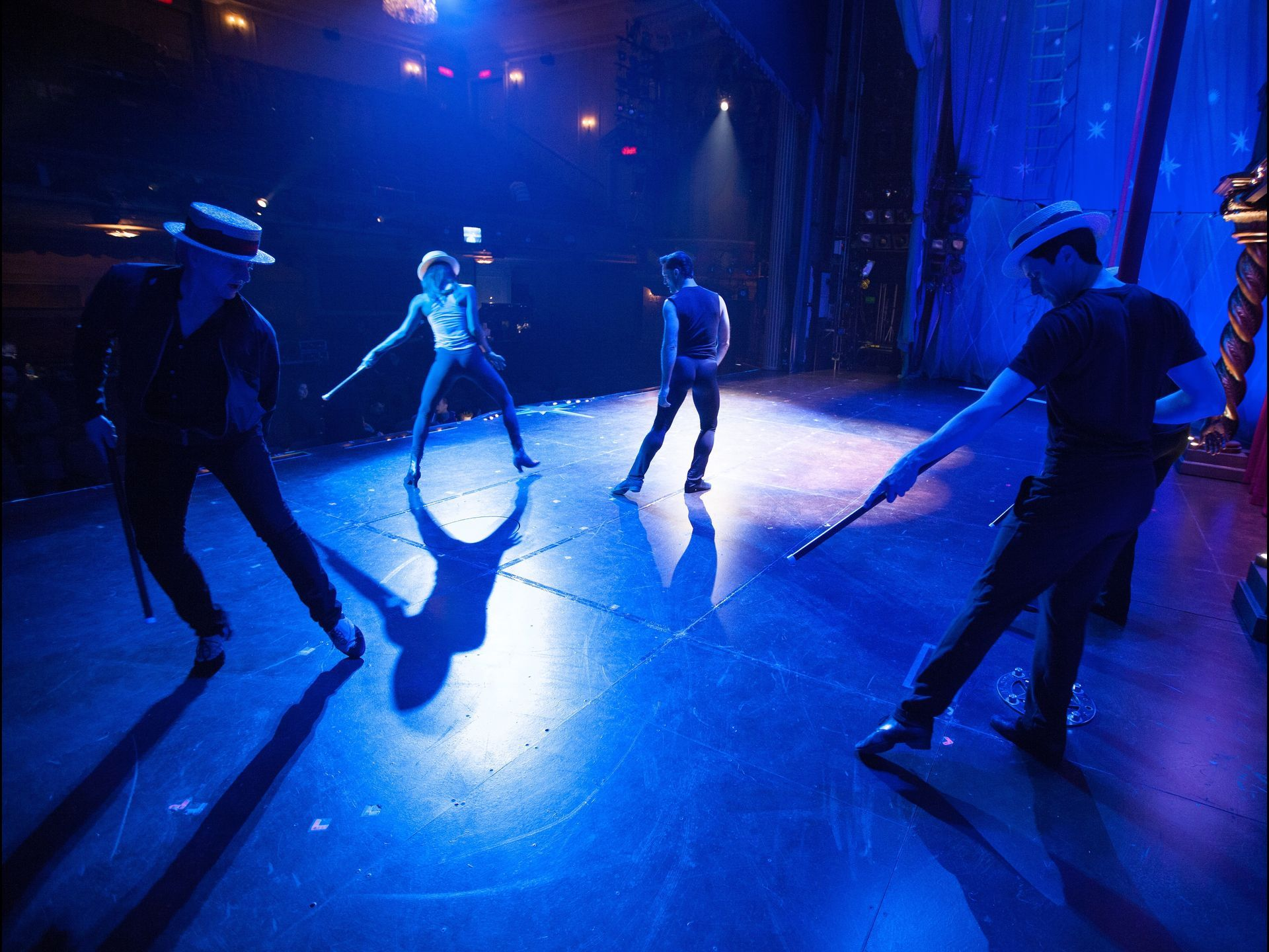 Choreographer Chet Walker puts the pip in Pippin The Manson