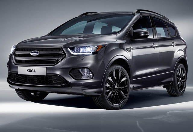 2017 Ford Kuga Changes Ford Kuga Ford Kuga Titanium Ford Suv