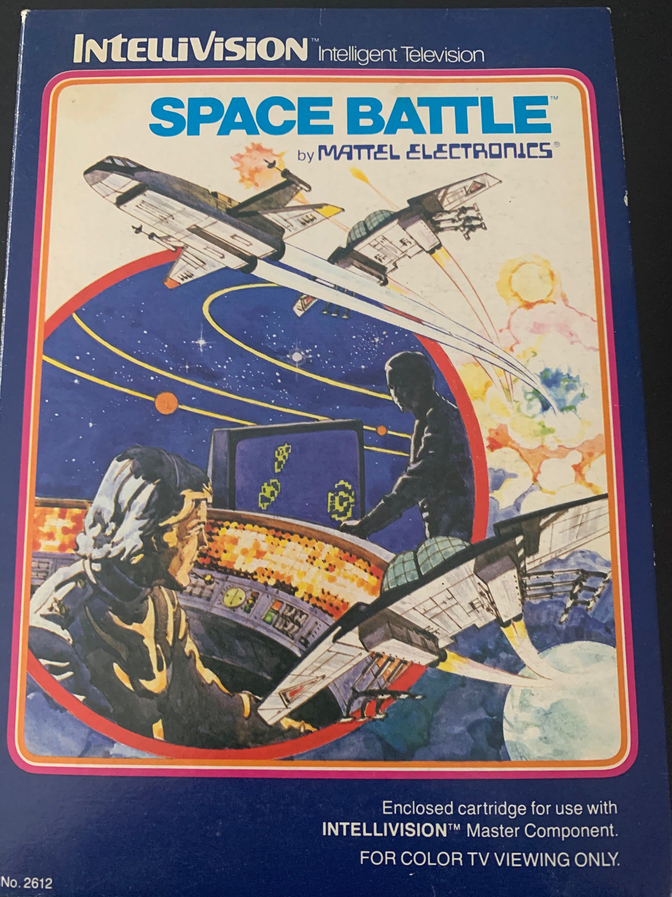Intellivision Space Battle Video Game Space battles