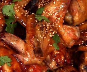 Teriyaki Chicken Wings in Slow Cooker Recipe