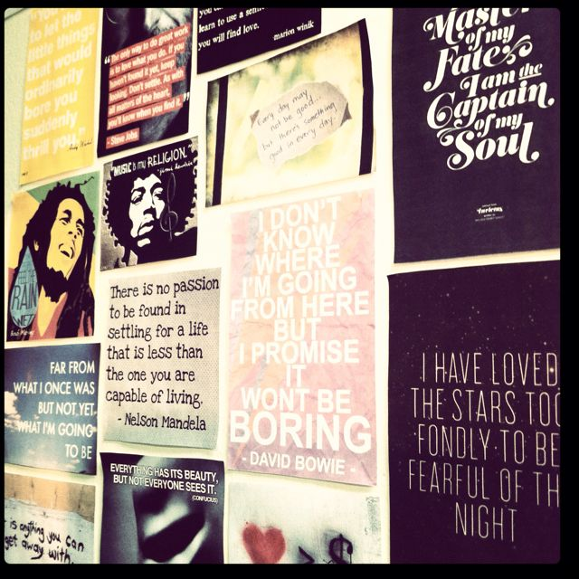 Pin By Emily Ortiz On Quotes Wall Quotes Wall Art Quotes Wall Collage