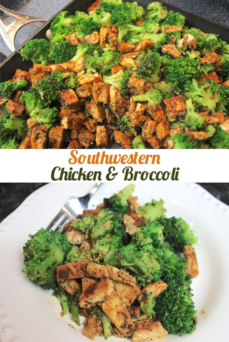 Southwestern Chicken And Broccoli Recipe Mr B Cooks Recipe Southwestern Chicken Broccoli Recipes Southwestern Chicken Casserole