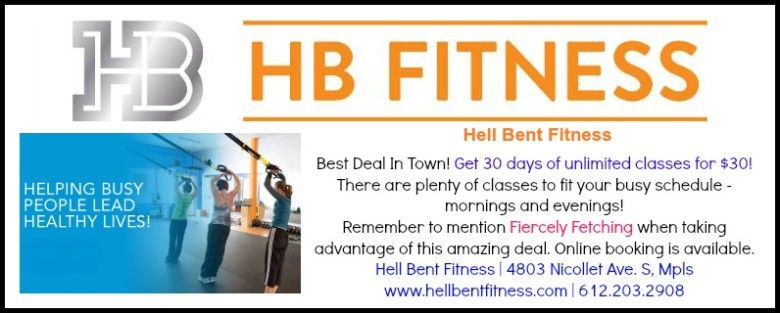 30 days of unlimited classes at Hell Bent Fitness in Minneapolis!