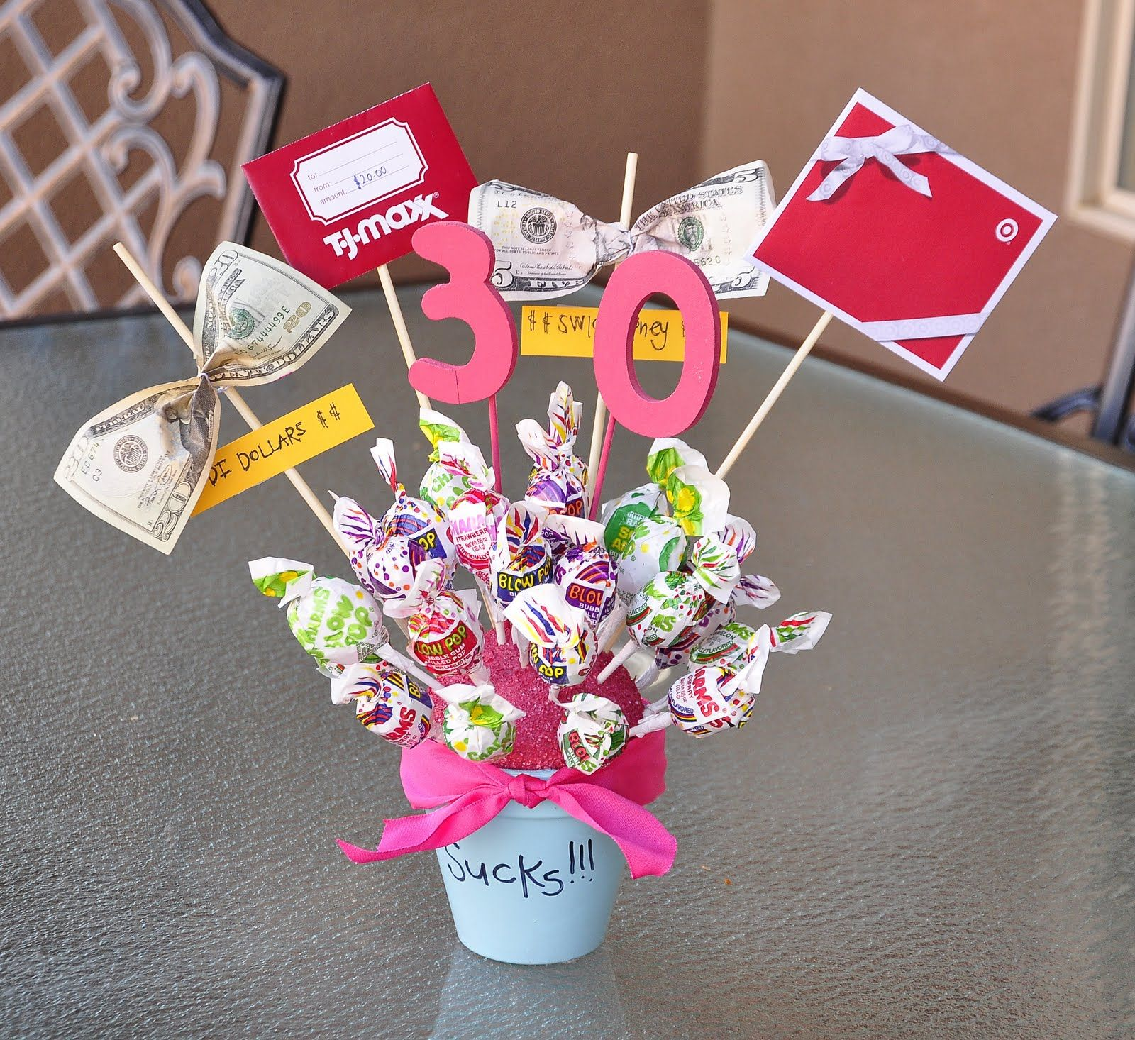 30th Birthday Party Homemade Birthday Gifts 30th Birthday Parties Birthday Gift Ideas