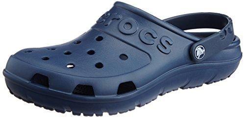 Crocs Athens II - Sandalias de Vestir de Material Sintético para Mujer Azul Azul Various, Color, Talla 37/38 EU