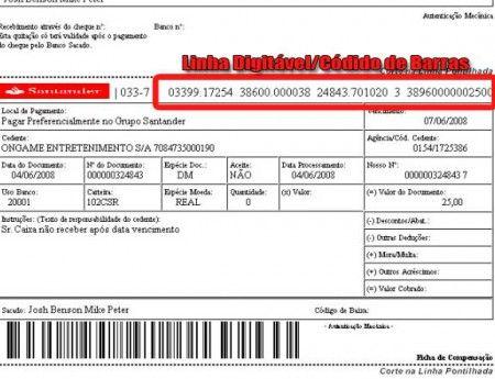 Atualizar Boleto Santander Pela Linha Digitavel Http Www