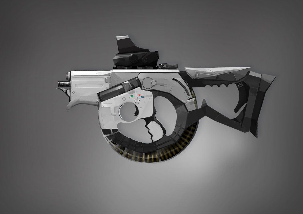 SMG micro M56 by ~xparament on deviantART