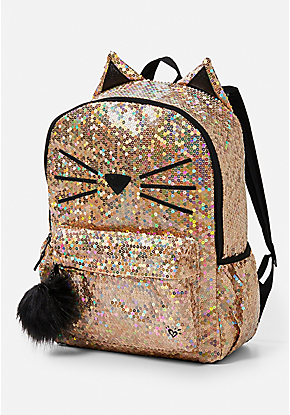c49447cb8cb8 Sparkle Cat Backpack